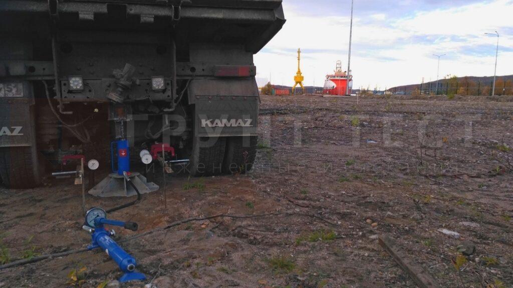 Испытания грунтов штампом Мурманск