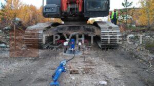 Штамповые испытания грунтов Владивосток