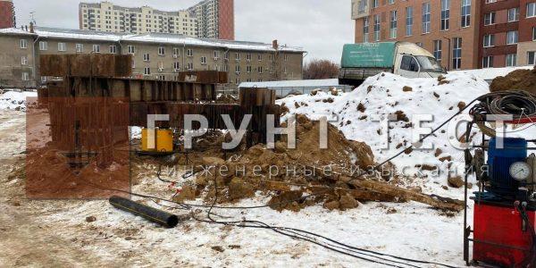 Статические испытания свай Новосибирск