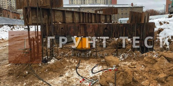 Статические испытания свай в Новосибирске